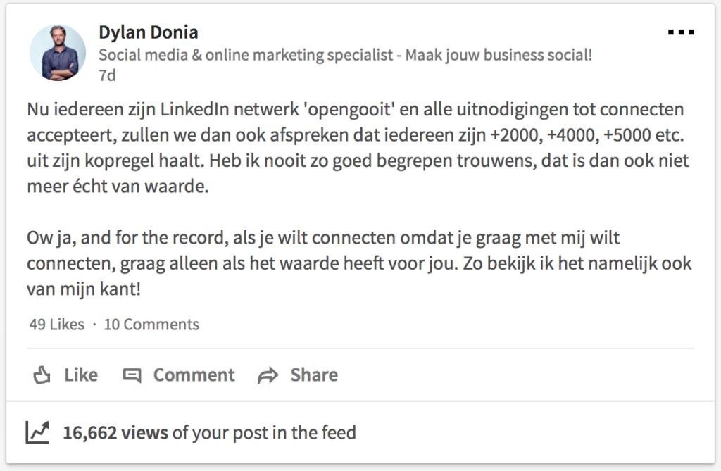 LinkedIn Artikel