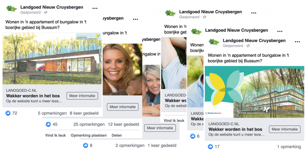 6 Facebook advertenties
