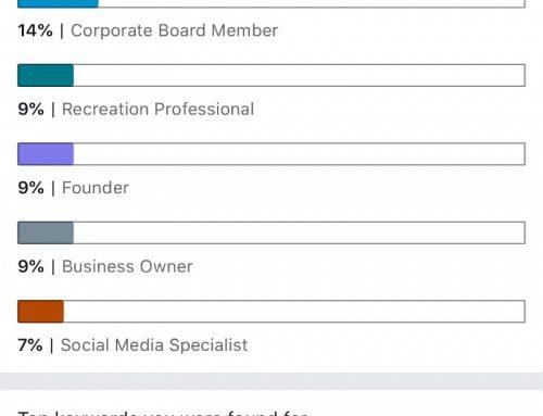 LinkedIn is ook een zoekmachine!