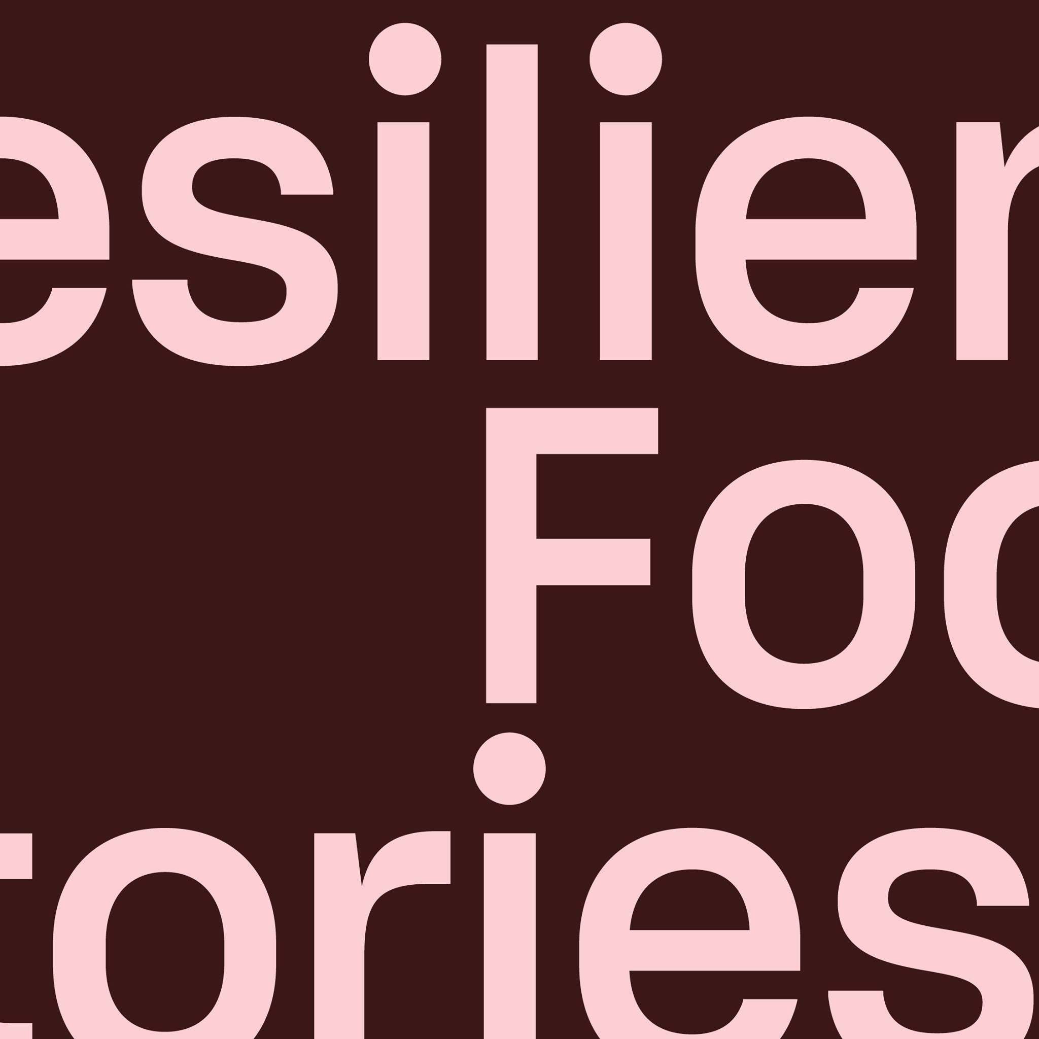 Resilience Food Stories